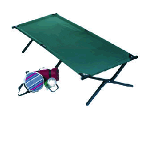 Deluxe Folding Camp Cot 250 Lbs Wt. Limit 15044(CS)