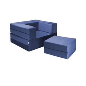 Jaxx Zipline Modular Sleeper Chair & Ottoman Set 1638570_(WFFS)