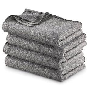 Fire Resistant Wool Blanket 1700040(ERF)