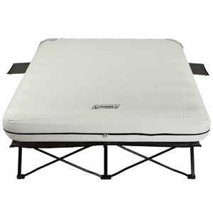 Coleman Queen Frame w/Airbed 600 lbs Weight Capacity (AZFS)