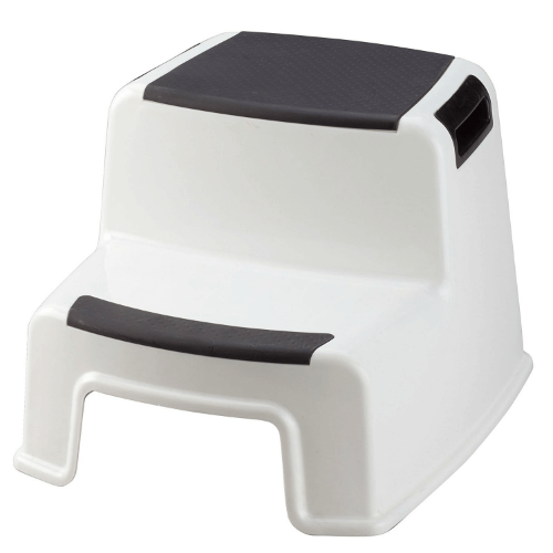 Two Tier Stepping Stool by Miles Kimball (280 Lbs Weight Capacity)