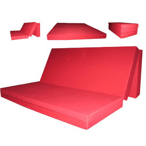 """4"""" Thick Queen Size Trifold Foam Bedsf b304 (AZFS230)"""