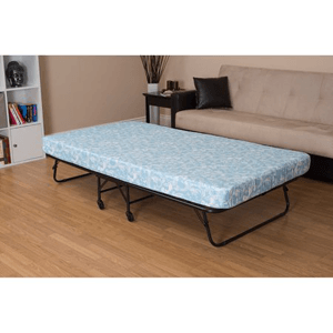 Rent The DHP Folding Guest Bed Frame with 5 In. Mattress (Ships Throughout The USA)