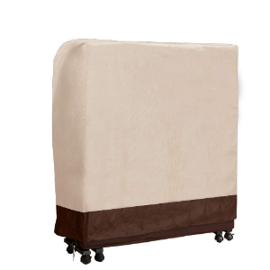 Beige Universal Folding Bed Cover (Multiple Sizes)