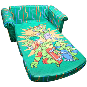 Marshmallow Furniture Flip-Open Sofa, Teenage Mutant Ninja Turtles Retro 6023238(WFS)