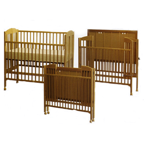 Rent A Folding Full Size Crib 616(DM)