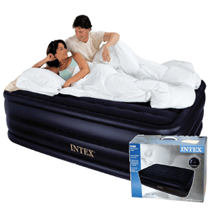 Intek Raised Luxury Airbed w. Pump Queen 66717 (KDYFS)