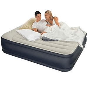 Pillow Rest Queen Size Air Bed w/Built-In Pump 67737(EAMFS)