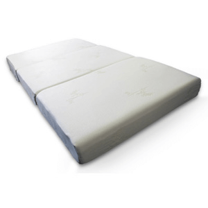 "4"" Ultra Soft Extra Long Memory Foam Tri-fold Mattress (AZFS)"