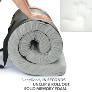 Better Habitat Sleep Ready Memory Foam Floor Mattress With Carry Case 49121502(AZFS)