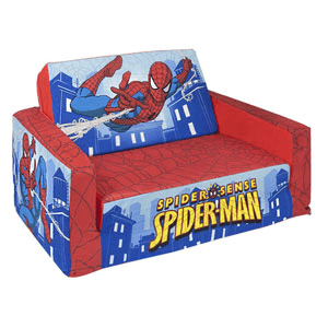 Marshmallow Flip Open Sofa with Slumber Spider-Man 6021957(WFS)