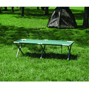 Deluxe Folding Camp Cot (Weight limit of 250 lbs.) 15042(AZFS49)