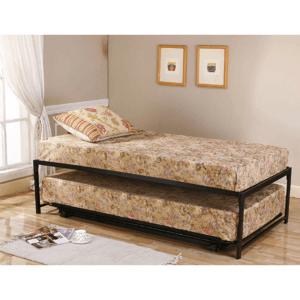 Twin Extra Long Adult Pop Up Trundle Bed Set SP16 (400 Lbs Weight Capacity)