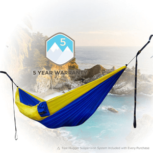 Classic Serac Adventure Hammock with Suspension System (AZFS)