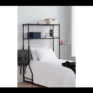 Over the Bed Shelf Supreme - Black