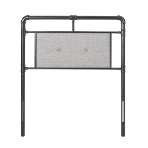 Aldrin Twin Open-Frame Headboard (Multiple Colors)