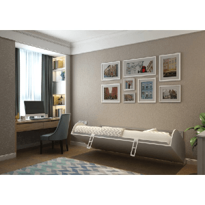 Simple Twin/Twin XL Murphy Wall Bed (WFFS)