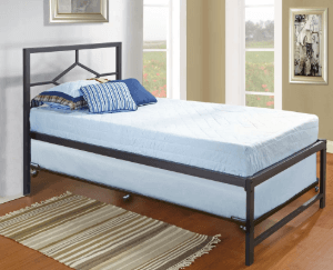 Holbrook Twin Day Bed with Pop Up Trundle B79-1-2-3(KBFS)(350 Lbs Weight Capacity)