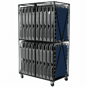 Blantex Cart with 20 XB-1 Economy Cots (375 Lbs Weight Capacity)