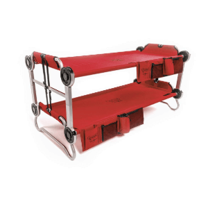 Disc-O-Bed Youth Kid-O-Bunk with Organizers (200 Lbs Weight Capacity)