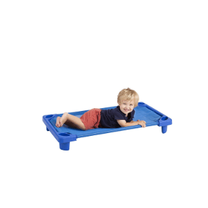 Streamline Toddler Nap- time Cot Stack able