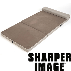 The Sharper Image Fold & Go Memory Foam Slumber Pad F12-SO9193(OFS)