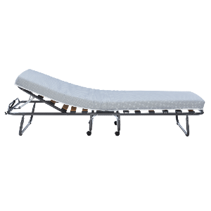 Adjustable Head Folding Rollaway Memory Foam Bed (Weight Capacity 220 Lbs)