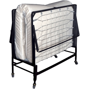 "Harth Metal Rollaway Bed with Mattress, Multiple Sizes 19.5"" Off The Ground (WFS)"