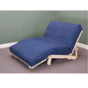KD Futon Lounger (Unfinished Hardwood)(KDFS)