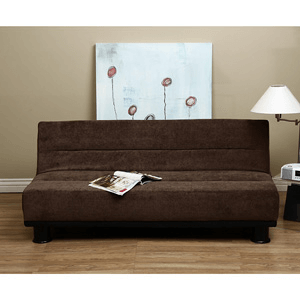 Cocoa Velvet Like Sofa Sleeper 12435676(OFS229)
