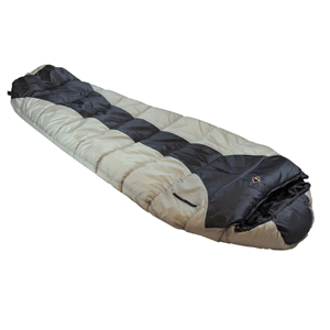 Ledge Sports River +0 F Degree XL Oversize Mummy Sleeping Bag (86 X 34 X 24)