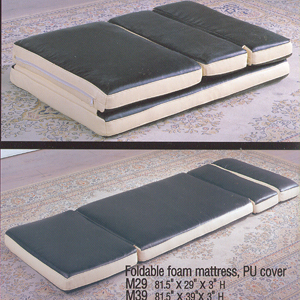 Extra Long Fold able Foam Mattress M_(AVI)