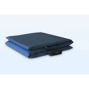 Tri-Fold Bedside Mat in Navy NYO1104(WFFS)