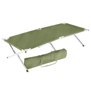 Large Aluminum Folding Cot With Center Support 4599(OISFS)