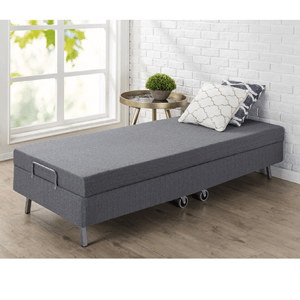 Memory Foam Resort Folding Guest Bed with Wheels OLB-NTGB(AZFS)