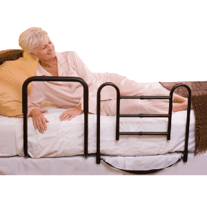 Bed Safety Rails for Stand Assist and Fall Prevention (300 Lbs Weight Capacity)