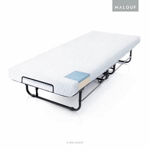 Rollaway Folding Guest Bed with Premium Gel Memory Foam Mattress ST04CTMFRB(AZFS)