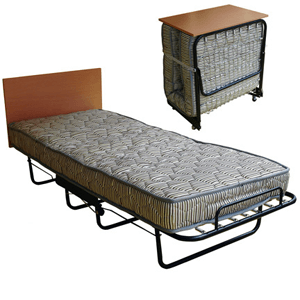 Folding Bed With Spring Mattress 300 Lbs Weight Capacity HMC2605(WFFS)