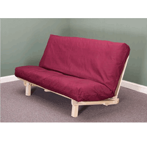 Studio BiFold Futon Frame (Unfinished Hardwood)(KDFS)