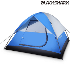 3-person Lightweight Waterproof Dome Family Tent for Traveling TE0_(AZFS)