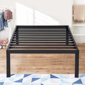 Olee Sleep 16 Inch Dura Metal Steel Slate Bed Frame