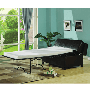 Bed-in-a-Box with Casters 1688-BLK (WDFS)