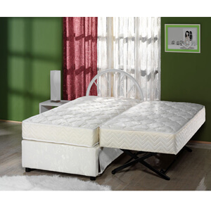 The Sensational Complete High Rise Trundle Bed (500 Lbs Weight Capacity) (SUFS)
