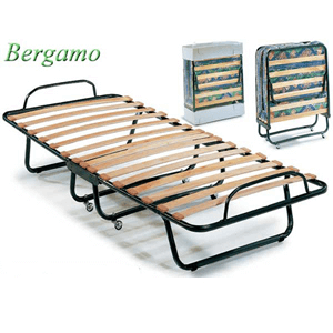 "The Bergamo Folding Bed With 5"" Innerspring Mattress 92365(LBFS)"
