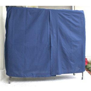 Blue Poly Cotton Dust Cover For Rollaways (PPPFS10)