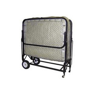 Link Deck Roll away Bed With Innerpring Mattress (350 Lbs Wt. Capacity COM-39(AVMFS)