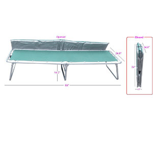 Comfort Cot With Mattress FCM(GTFS)