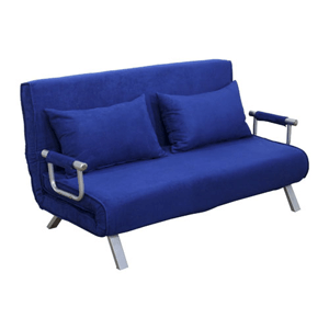 Suede Fabric Lounge Futon Sofa Chair (AZFS