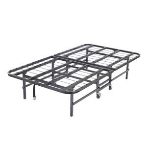 Heavy Duty Metal Platform Folding Guest Bed Frame 813 (KBFS)