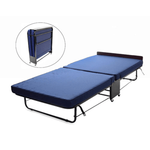 Premium Folding Bed - with Quilted Split-fold Mattress (AZ)